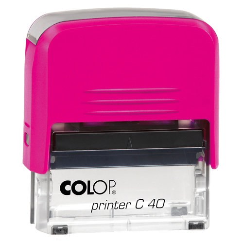 Colop Printer Compact C40 Electrics - różowy electrics