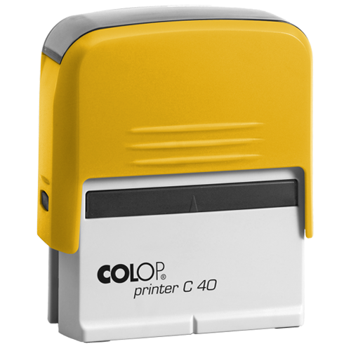 Colop Printer Compact C 40 - żółty