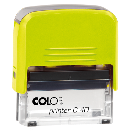 Colop Printer Compact C40 Electrics - żółty electrics