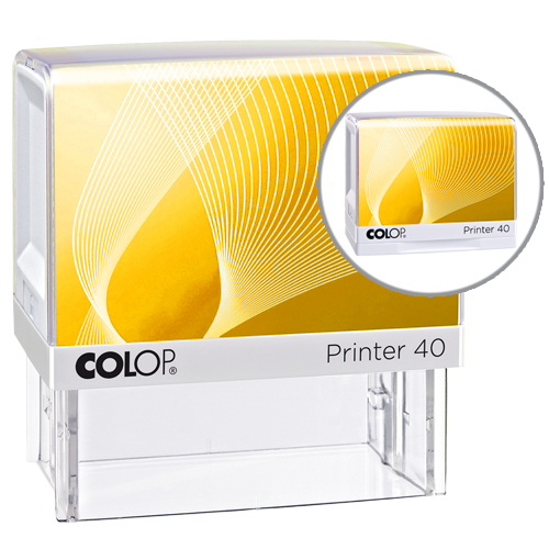Colop Printer IQ 40 - żółty