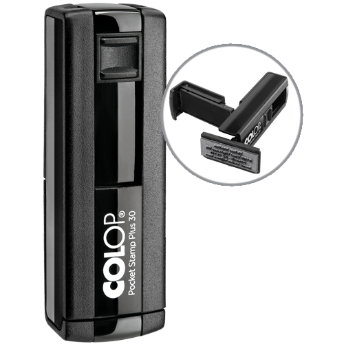 Colop Pocket Plus 30 - czarny