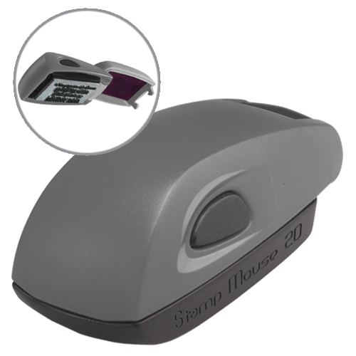 Colop Stamp Mouse 20 - szary