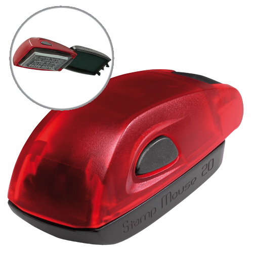 Colop Stamp Mouse 20 - ruby