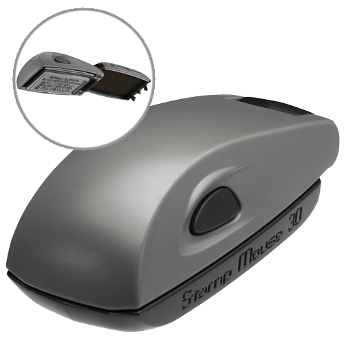 Colop Stamp Mouse 30 - szary
