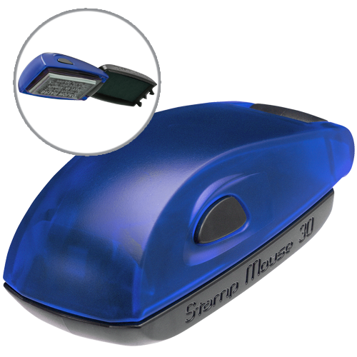 Colop Stamp Mouse 30 - indygo