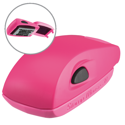 Colop Stamp Mouse 30 - różowy