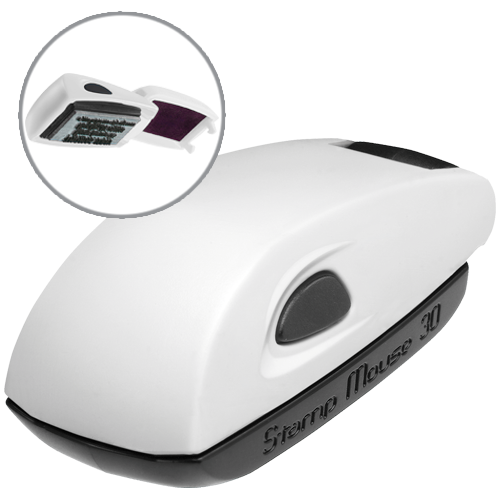 Colop Stamp Mouse 30 - biały